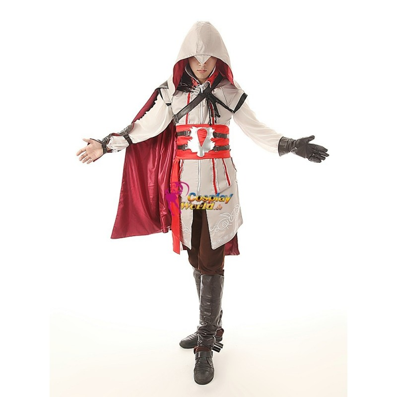 Assassin's Creed II Ezio Cosplay Kostüme Deluxe Set online