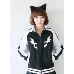 Kill La Kill Ryuko Mato Hoodie coole Baumwolle Sweatshirt Baseball Uniform