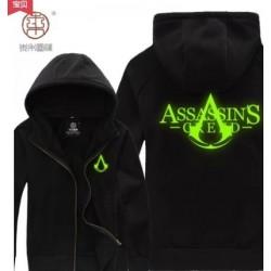 Assassin's Creed 3 Connor Kenway Hoodie Leuchtende Dünne Sweatshirt Cosplay Kostüme