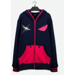 Kill La Kill Senketsu Hoodie coole Baumwolle Sweatshirt Baseball Uniform