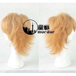 Danganronpa 2 Chihiro Fujisaki orange Cosplay Perücke Game Haare
