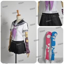 Danganronpa 2 Mioda Ibuki Cosplay Kostüme Schule Uniform auf Maß