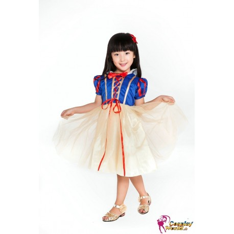Kinder Cosplay Kostüme, Snow White Kleid