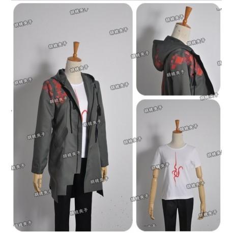 Danganronpa 2 Nagito Komaeda Cosplay Kostüme auf Maß