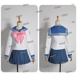 Danganronpa Maizono Sayaka Cosplay Kostüme Schule Uniform