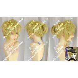 Lucaille® Vocaloid Perücke Cospaly LEN blonde Perücke