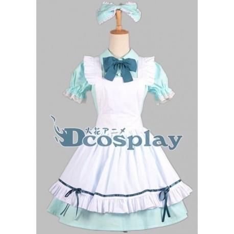 Love Live Koizumi Hanayo Cosplay Kostüme, Maid kostüme, Alice Kleid auf Maß