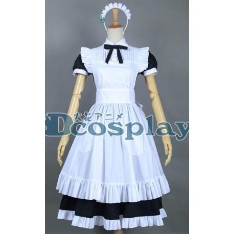 Love Live Minami Kotori Cosplay Kostüme, Maid kostüme auf maß
