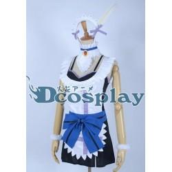 Love Live Sonoda Umi Cosplay Kostüme, Maid kostüme auf maß