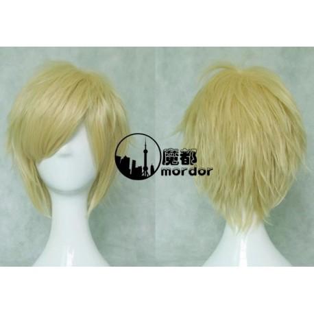 Inu X Boku SS Watanuki Banri blonde Cosplay Perücke