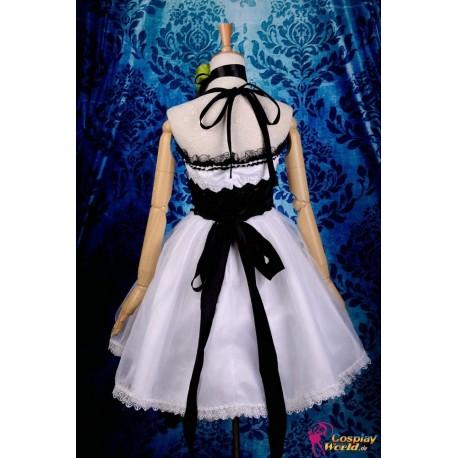 Vocaloid Gumi Camellia weißes Kleid Cosplay Kostüm Deluxe
