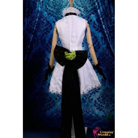 Vocaloid Kagamine Rin Cosplay weißes Kleid Cosplay Kostüme