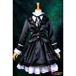 Vocaloid Hatsune Miku Cosplay Kostüme Lolita schwarzen Kleid