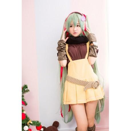 VOCALOID Cosplay Kostüm Miku Kawaii Overall