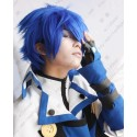 Lucaille® Vocaloid Perücke Cospaly KAITO dunkelblaue Perücke