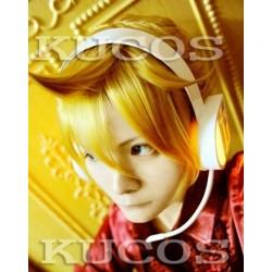 Vocaloid Kagamine Len blonde Cosplay Perücke