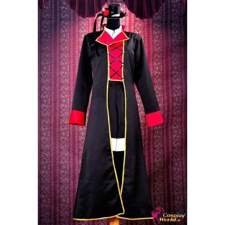 Vocaloid Kaito Fate Rebirth schwarzen Anzug Cosplay Kostüme