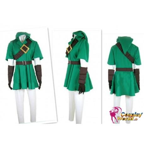 Legend of Zelda link cosplay Kostüme Set Lite