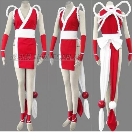 Street Fighter MAI SHIRANUI Cosplay Kostüme, Bühnenoutfits