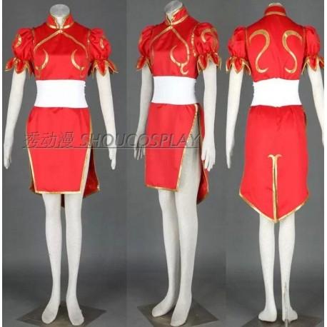 Street Fighter Chun Li Cosplay Kostüme, Bühnenoutfits