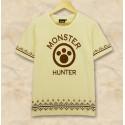 Monster Hunter Cat Airou Shirt, coole T-Shirt, Game Baumwolle T-Shirt Cosplay Kostüme