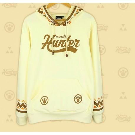 Monster Hunter Cat Airou Hoodie Ethnischen Stil Sweatshirt Baumwolle Hoodie