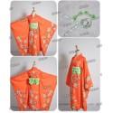 Danganronpa 2 Hiyoko Saionji Cosplay Kostüme kawaii Kimono auf Maß