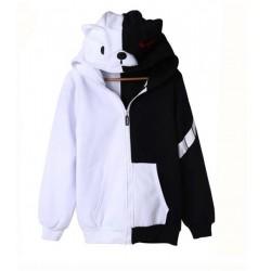 Danganronpa Monokuma Hoodie Sweatshirt Baumwolle Hoodie