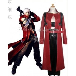 Devil May Cry 3 Cosplay Kostüm auf Maß, Dante Game Kostüme