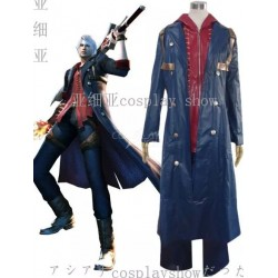 Devil May Cry 3 Cosplay Kostüm auf Maß, Vergil Game Kostüme