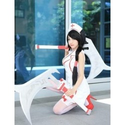 LOL Cosplay Kostüme, Akali Krankenschwester Uniform