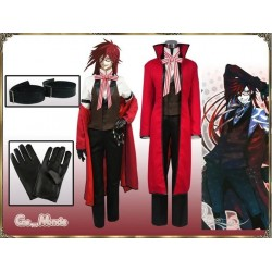Black Butler Ciel Cospaly Kostüm Grell Sutcliff Cospaly Kostüme Anime Manga