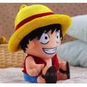 One Piece Monkey D Luffy Plüsch Puppe ANIME Stofftier 35 cm