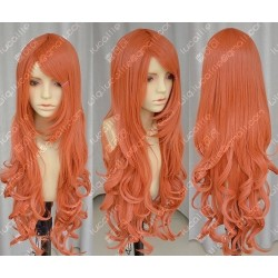 Lucaille®-One Piece Cosplay Perücke Nami orange wellige Perücke