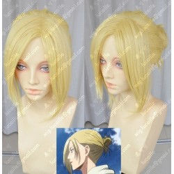 Lucaille®-Attack on Titan Cosplay Perücke Annie Leonheart blonde Perücke