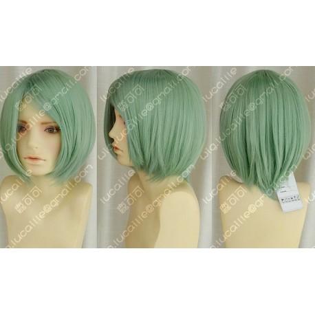 Lucaille® Vocaloid Perücke Cospaly Miku hellgrüne Perücke