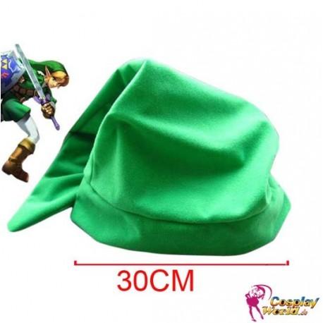 The Legend of Zelda Link cosplay Plüsch Hut kawaii lange grüne Mütze Halloween Weihnachten