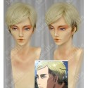 Lucaille®-Attack on Titan Perücke Cosplay Erwin Smith hellblonde Perücke