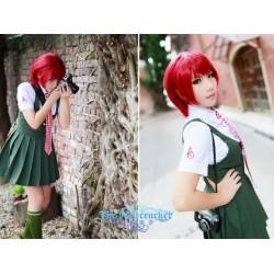 Danganronpa Koizumi Mahiru Cosplay Kostüme Schule Uniform auf Maß
