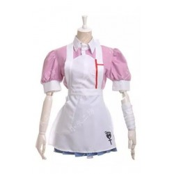 Danganronpa 2 Tsumiki Mikan Cosplay Kostüme Maid Kostüme auf Maß