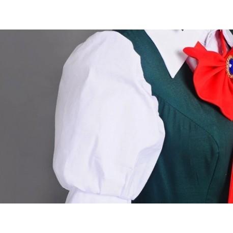Danganronpa 2 Sonia Nevermind Cosplay Kostüme kawaii Kleid auf Maß