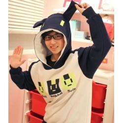 DRAMAtical Murder N+C DMMD Noiz Hasenohren Hoodie Sweatshirt Cosplay Kostüme