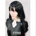 Date A Live Tokisaki Kurumi Nightmare schwarze Cosplay Perücke Wig