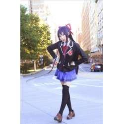 Date A Live Yatogami Tohka Pensee violett LIla Cosplay 1m Perücke Wig
