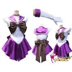 Anime Manga Sailor Moon Sailor Saturn Tomoe Hotaru Cosplay Kostüme